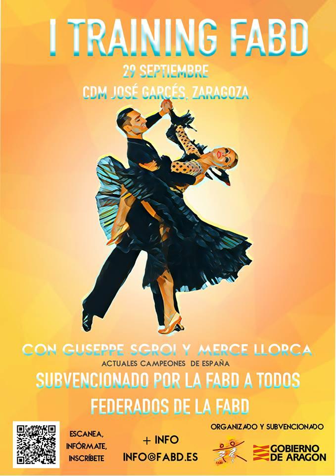 Jornada de Trainning de 10 Bailes 29 de septiembre