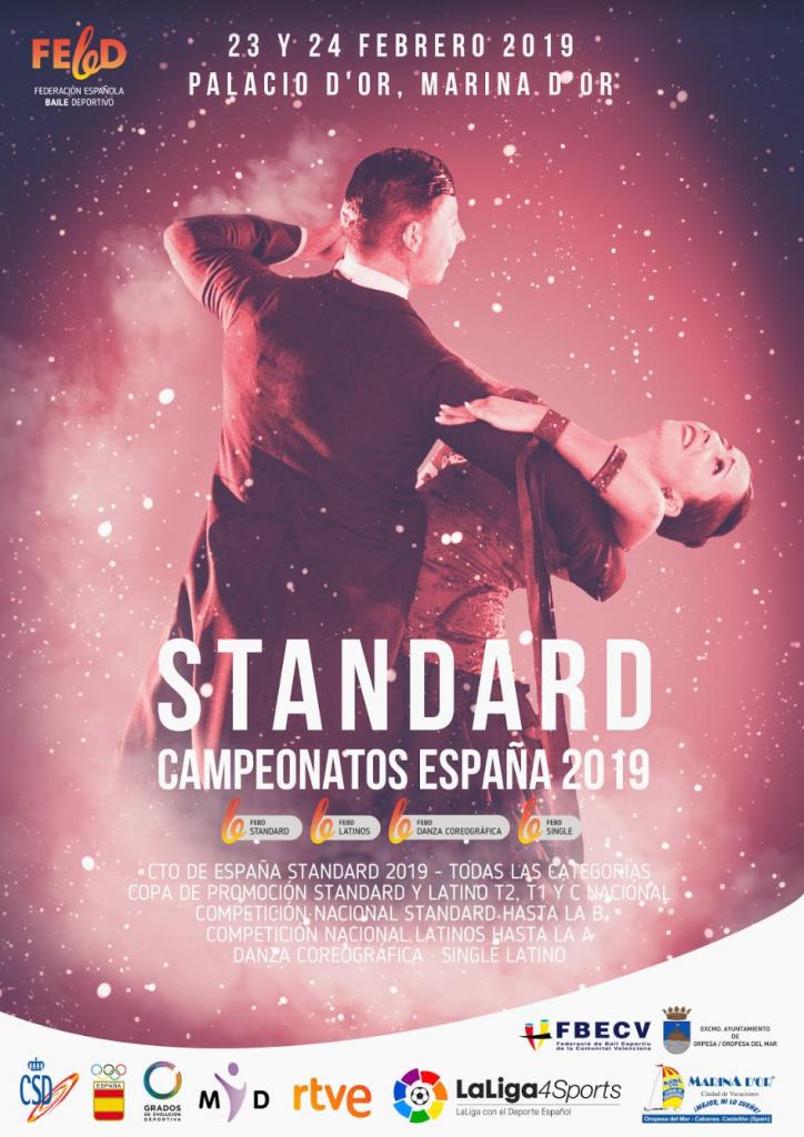 CAMPEONATO DE ESPAÑA 2019 - STANDARD
