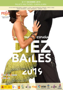 CAMPEONATO DE ESPAÑA 2019 - 10 BAILES