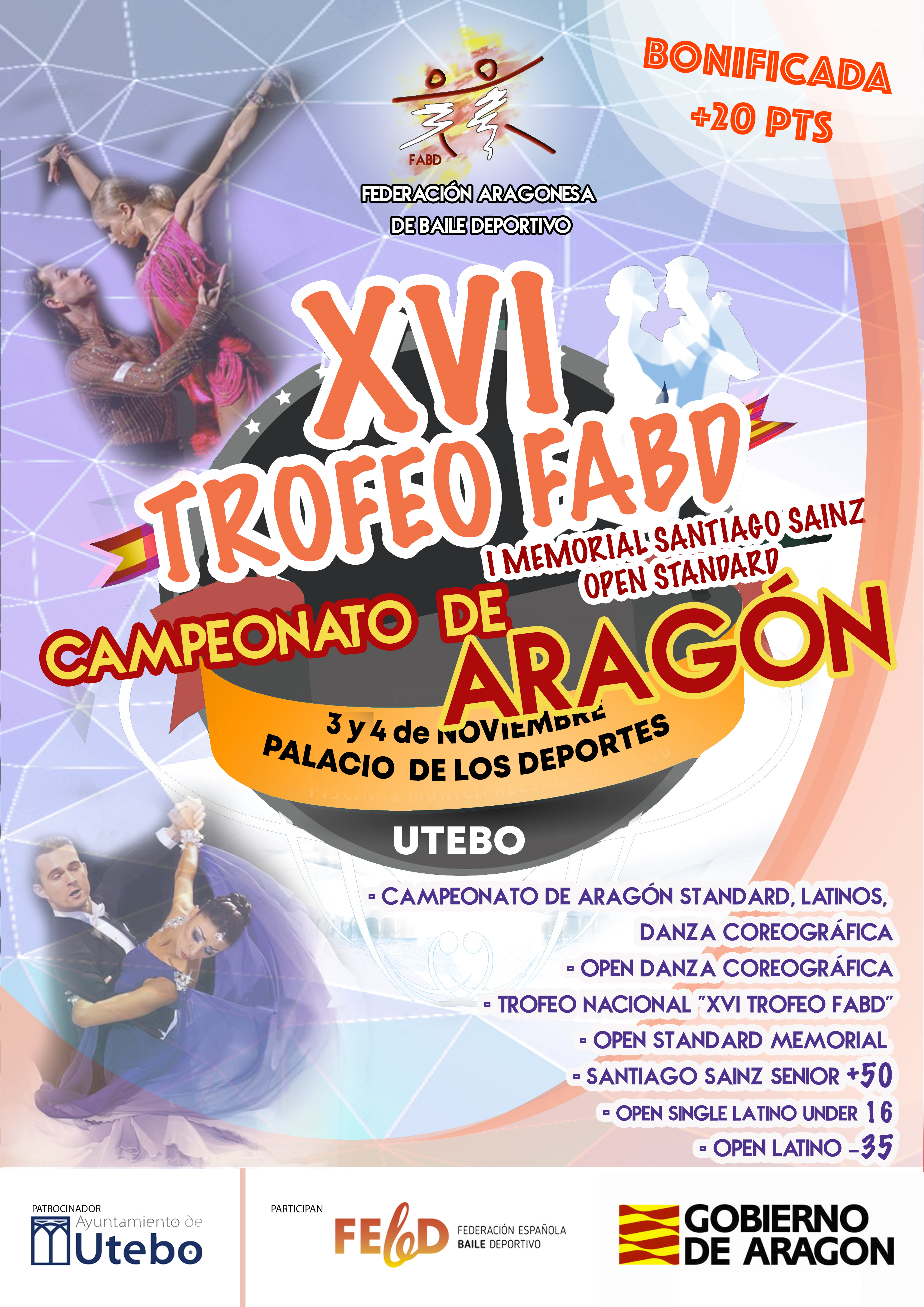 CAMPEONATO DE ARAGON - XVI TROFEO FABD - MEMORIAL SANTIAGO SAINZ