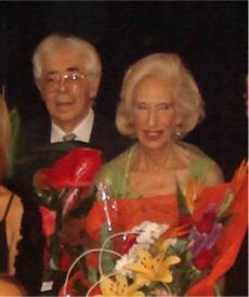 Homenaje Rafael Gálvez y Montse Cortés